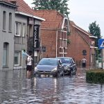 Wateroverlast juni 2019 erkend als ramp in Kalmthout.